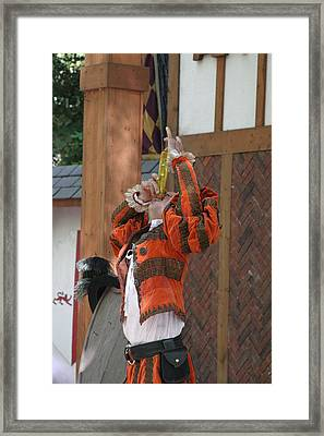 Maryland Renaissance Festival - Johnny Fox Sword Swallower - 121246 Framed Print
