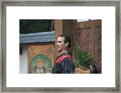 Maryland Renaissance Festival - Johnny Fox Sword Swallower - 121270 Framed Print by DC Photographer