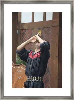 Maryland Renaissance Festival - Johnny Fox Sword Swallower - 121272 Framed Print by DC Photographer