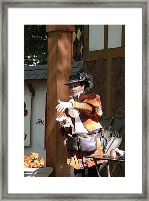 Maryland Renaissance Festival - Johnny Fox Sword Swallower - 12128 Framed Print