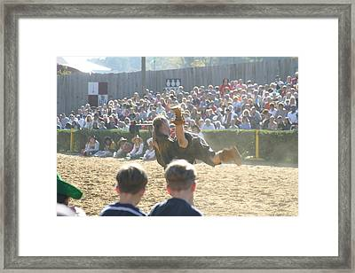 Maryland Renaissance Festival - Jousting And Sword Fighting - 1212110 Framed Print by DC Photographer