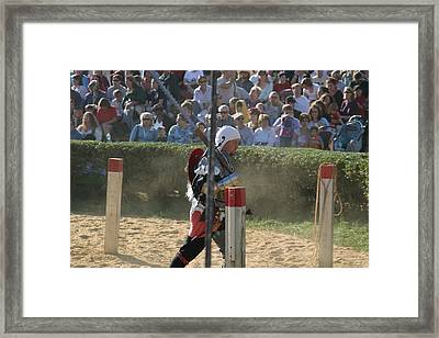 Maryland Renaissance Festival - Jousting And Sword Fighting - 1212119 Framed Print by DC Photographer