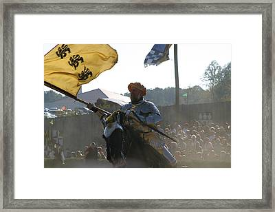 Maryland Renaissance Festival - Jousting And Sword Fighting - 1212130 Framed Print by DC Photographer