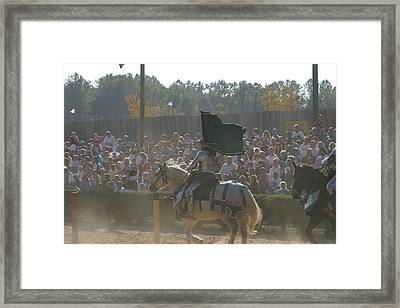 Maryland Renaissance Festival - Jousting And Sword Fighting - 1212132 Framed Print by DC Photographer