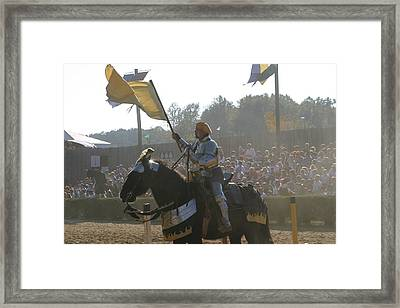 Maryland Renaissance Festival - Jousting And Sword Fighting - 1212137 Framed Print