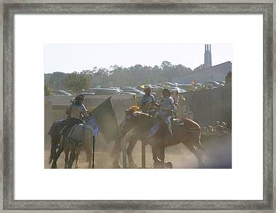 Maryland Renaissance Festival - Jousting And Sword Fighting - 1212140 Framed Print by DC Photographer