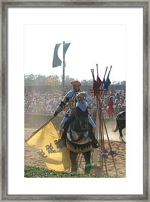 Maryland Renaissance Festival - Jousting And Sword Fighting - 1212145 Framed Print