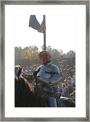 Maryland Renaissance Festival - Jousting And Sword Fighting - 1212147 Framed Print by DC Photographer