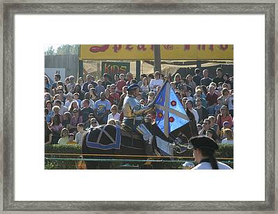 Maryland Renaissance Festival - Jousting And Sword Fighting - 1212151 Framed Print