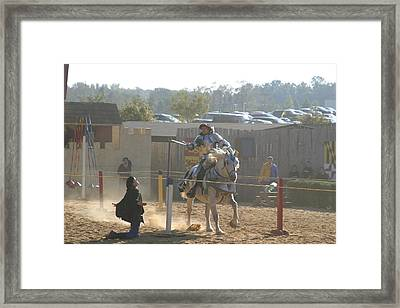 Maryland Renaissance Festival - Jousting And Sword Fighting - 1212156 Framed Print by DC Photographer