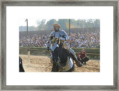 Maryland Renaissance Festival - Jousting And Sword Fighting - 1212165 Framed Print by DC Photographer