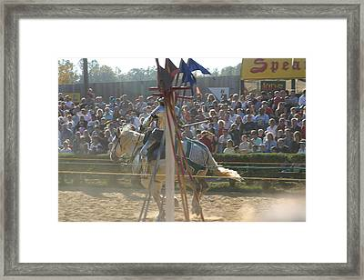 Maryland Renaissance Festival - Jousting And Sword Fighting - 1212166 Framed Print by DC Photographer