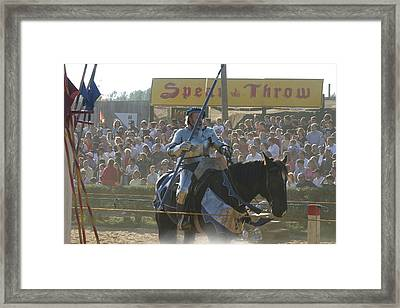 Maryland Renaissance Festival - Jousting And Sword Fighting - 1212169 Framed Print