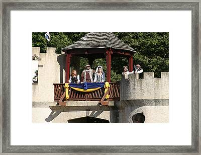 Maryland Renaissance Festival - Jousting And Sword Fighting - 1212170 Framed Print by DC Photographer