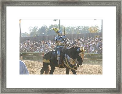Maryland Renaissance Festival - Jousting And Sword Fighting - 1212171 Framed Print