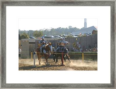 Maryland Renaissance Festival - Jousting And Sword Fighting - 1212186 Framed Print by DC Photographer