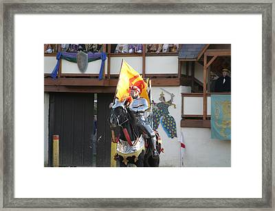 Maryland Renaissance Festival - Jousting And Sword Fighting - 121219 Framed Print