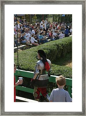 Maryland Renaissance Festival - Jousting And Sword Fighting - 1212198 Framed Print by DC Photographer