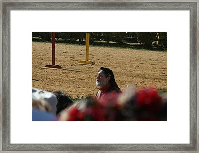 Maryland Renaissance Festival - Jousting And Sword Fighting - 1212199 Framed Print by DC Photographer