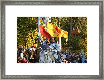 Maryland Renaissance Festival - Jousting And Sword Fighting - 121220 Framed Print