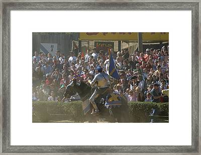 Maryland Renaissance Festival - Jousting And Sword Fighting - 1212201 Framed Print by DC Photographer