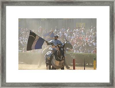 Maryland Renaissance Festival - Jousting And Sword Fighting - 1212205 Framed Print