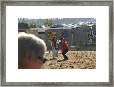 Maryland Renaissance Festival - Jousting And Sword Fighting - 1212213 Framed Print by DC Photographer