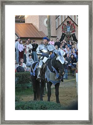 Maryland Renaissance Festival - Jousting And Sword Fighting - 121229 Framed Print