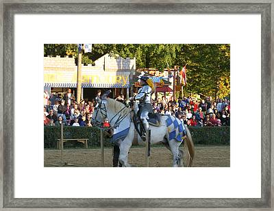 Maryland Renaissance Festival - Jousting And Sword Fighting - 121231 Framed Print