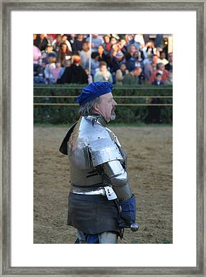 Maryland Renaissance Festival - Jousting And Sword Fighting - 121234 Framed Print