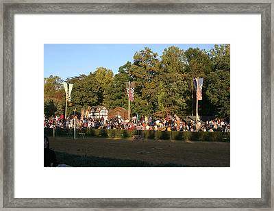Maryland Renaissance Festival - Jousting And Sword Fighting - 12124 Framed Print by DC Photographer
