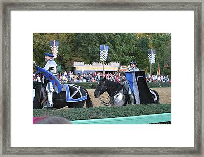 Maryland Renaissance Festival - Jousting And Sword Fighting - 121261 Framed Print by DC Photographer