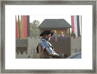 Maryland Renaissance Festival - Jousting And Sword Fighting - 121263 Framed Print by DC Photographer