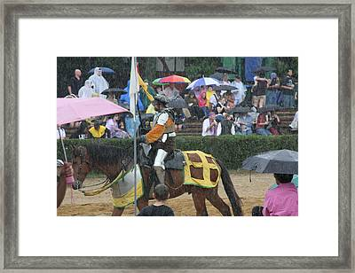 Maryland Renaissance Festival - Jousting And Sword Fighting - 121268 Framed Print by DC Photographer