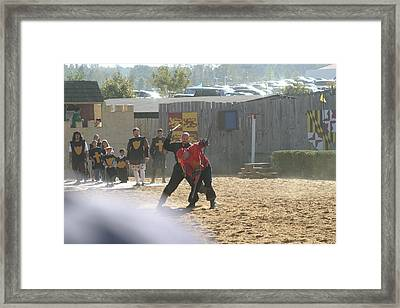 Maryland Renaissance Festival - Jousting And Sword Fighting - 121275 Framed Print by DC Photographer