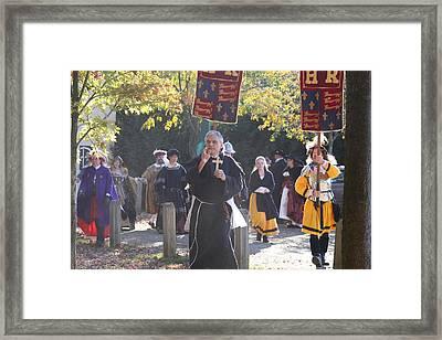 Maryland Renaissance Festival - Kings Entrance - 12121 Framed Print