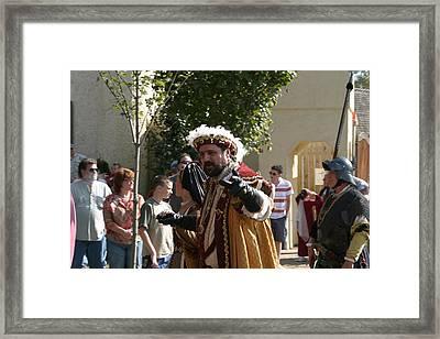 Maryland Renaissance Festival - Kings Entrance - 121211 Framed Print