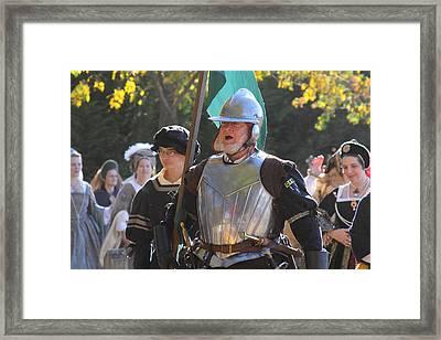 Maryland Renaissance Festival - Kings Entrance - 12123 Framed Print by DC Photographer