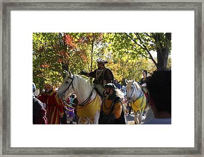 Maryland Renaissance Festival - Kings Entrance - 12126 Framed Print