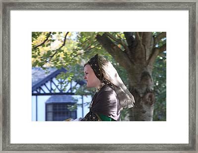 Maryland Renaissance Festival - Kings Entrance - 12128 Framed Print