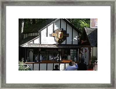 Maryland Renaissance Festival - Merchants - 12122 Framed Print