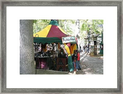 Maryland Renaissance Festival - Merchants - 121223 Framed Print