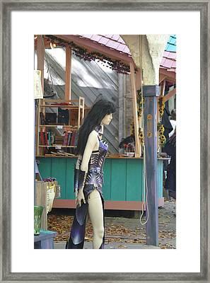 Maryland Renaissance Festival - Merchants - 121226 Framed Print