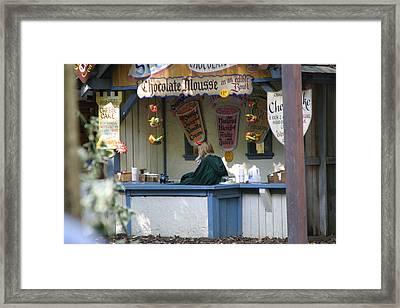 Maryland Renaissance Festival - Merchants - 121252 Framed Print