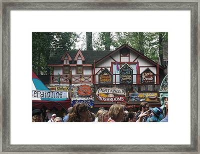 Maryland Renaissance Festival - Merchants - 121269 Framed Print