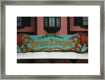 Maryland Renaissance Festival - Merchants - 121275 Framed Print by DC Photographer