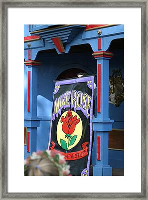 Maryland Renaissance Festival - Mike Rose - 12121 Framed Print
