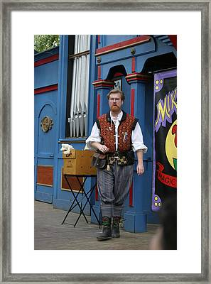 Maryland Renaissance Festival - Mike Rose - 12126 Framed Print by DC Photographer