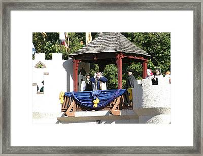 Maryland Renaissance Festival - Open Ceremony - 12121 Framed Print by DC Photographer
