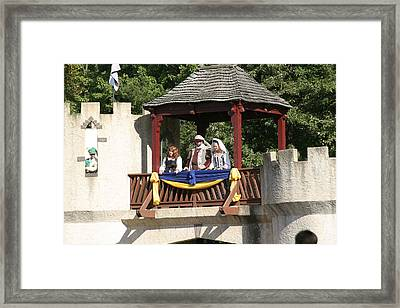 Maryland Renaissance Festival - Open Ceremony - 121210 Framed Print